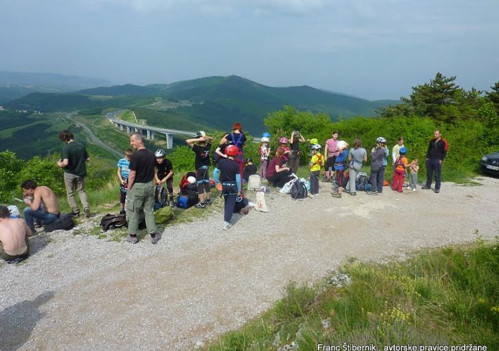 Plezalni izlet v Črni Kal