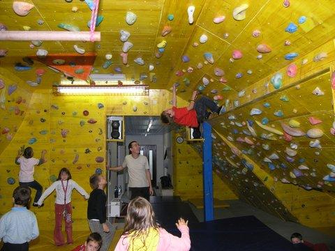 Dograditev plezalnice