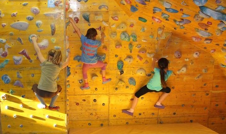 Vpis v termine plezanja za otroke