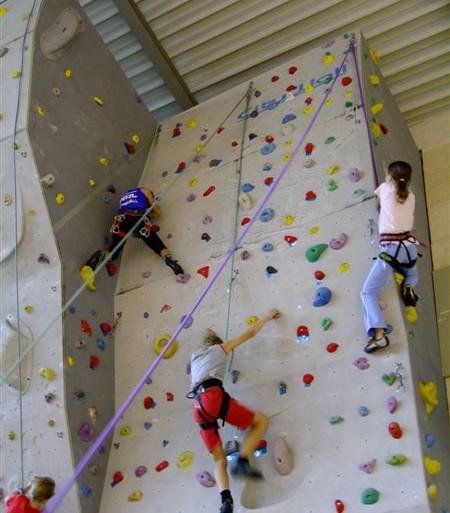 Začetek plezanja za otroke in odrasle