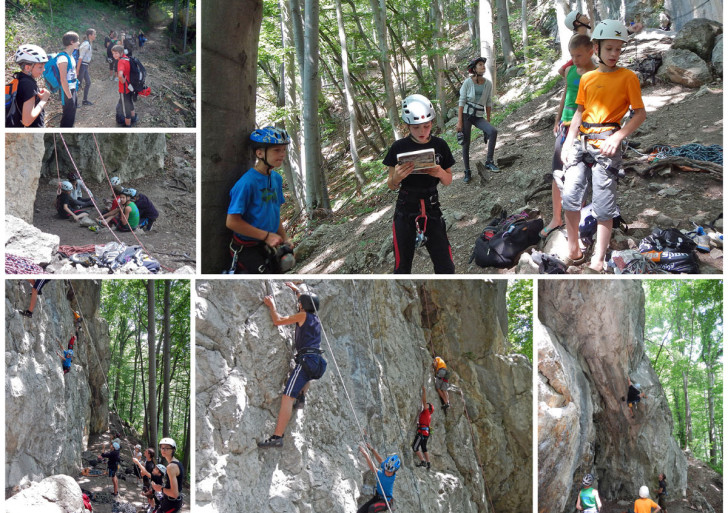 Plezalni tabor v Kotečniku