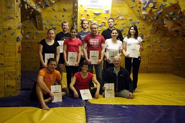 Organiziramo tečaj za pripravnika Športnega plezanja
